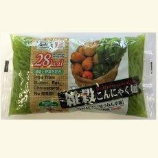 Photo2: 雑穀こんにゃく麺(ほうれん草麺)こんにゃく麺 ダイエット 置き換えダイエット食品 糖質制限ダイエット グルテンフリー ダイエット食品 ローカロリー (2)