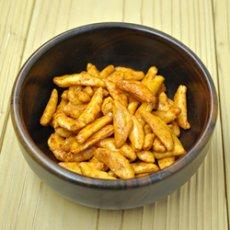 Photo2: 日本一辛い 黄金一味 柿の種 120g (2)