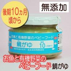 Photo1: お魚と有機野菜のベビーフード 鯛がゆ 100g 後期10か月頃から 味千汐路 (1)
