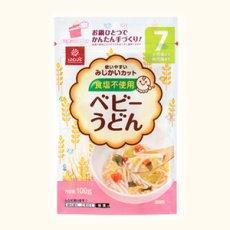 Photo2: はくばく ベビーうどん 100g  食塩不使用 乳児用規格適用食品 離乳食、ベビーフード うどん 麺類 (2)