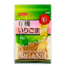 Photo2: 有機いりごま白 80g(有機JAS認定) 白胡麻 オーガニック みたけ食品 (2)