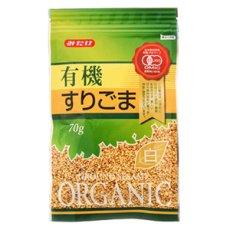 Photo2: 有機すりごま白 70g(有機JAS認定)白胡麻 オーガニック みたけ食品 (2)