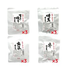 Photo2: 無添加 おかず 小どんぶりの素 お肉系 4種類 12食セット レトルト和食 惣菜 (2)