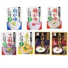 Photo2: たいまつ新潟県産コシヒカリ使用おかゆセット7種類 21食セット (2)