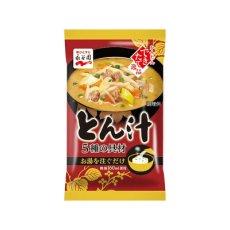 Photo4: 永谷園 フリーズドライ 味噌汁 5種の具材 とん汁 10.1g 即席味噌汁 インスタントみそ汁 (4)
