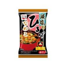 Photo3: 永谷園 フリーズドライ ひるげなめこ お味噌汁 減塩 即席 インスタント (3)
