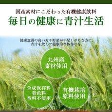 Photo2: 九州産 有機野菜青汁 3gX15包入 JA全農 大麦若葉 明日葉 桑葉 野菜不足 ドリンク 国産 (2)