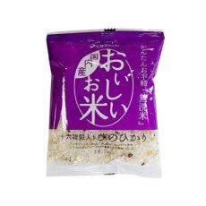 Photo7: 国産 無洗米 おいしいお米 十六雑穀入ひのひかり 150g 一合分 お試し 一人暮らし ベストアメニティ (7)