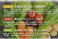 Photo3: フリーズドライ Naturre Future 厳選素材スープ 7種21食 詰め合わせセット スープ 化学調味料無添加 コスモス食品 インスタント 即席 非常食 保存食 ギフト (3)