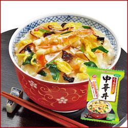 Photo1: アマノフーズ 中華丼 4袋[アマノフーズ フリーズドライ] (1)