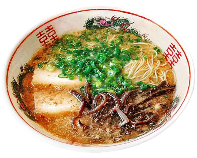 Photo1: 九州 博多 だるま らーめん (1箱2食入・豚骨)ご当地ラーメン(常温保存) (1)