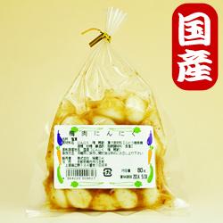 Photo1: 【国産にんにく】にんにく漬80g(梅肉)京都味蔵の漬物・おかずニンニク (1)