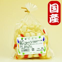 Photo1: 【国産にんにく】にんにく漬80g(薬膳)京都味蔵の漬物・おかずニンニク (1)