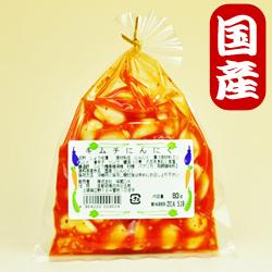 Photo1: 【国産にんにく】にんにく漬80g(キムチ)京都味蔵の漬物・おかずニンニク (1)