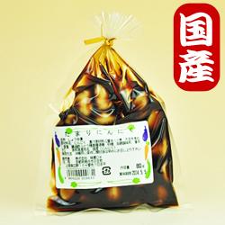 Photo1: 【国産にんにく】にんにく漬80g(たまり)京都味蔵の漬物・おかずニンニク (1)
