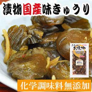 Photo1: 国産 漬物 味きゅうり 160g伊賀越 (1)