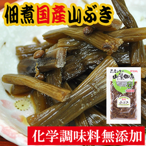 Photo1: 国産 山菜 佃煮 山ぶき 110g 伊賀越 (1)