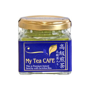 Photo1: My Tea Cafe 乳酸菌入高級煎茶 粉末茶 インスタントティー (1)