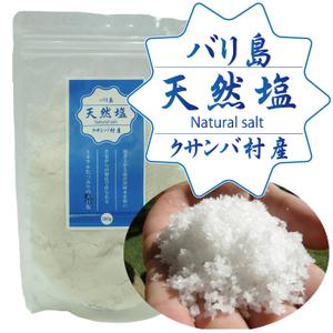 Photo1: バリの天然塩(クサンバ村産天日塩)300g (1)