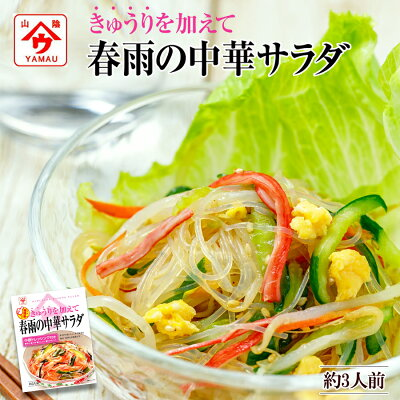 Photo1: きゅうりを加えて 春雨の中華サラダ 82g 魚の屋 ヘルシー 野菜 簡単調理 もう一品に 夜食 (1)