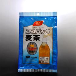 Photo1: エコパック麦茶120g(麦茶ティーバッグ24袋入)環境にやさしい・ペットボトル用 (1)