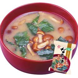 Photo1: 「無添加」なめこ汁(合わせ)8gX10袋セット【アマノフーズのフリーズドライ味噌汁:日本国内製造】(素材の栄養を保ちつつ美味しさを封じ込めた) (1)