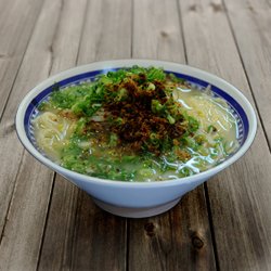 Photo1: 鹿児島ラーメンくろいわ(2食入・豚骨スープ)【超人気ご当地ラーメン】(常温保存) (1)